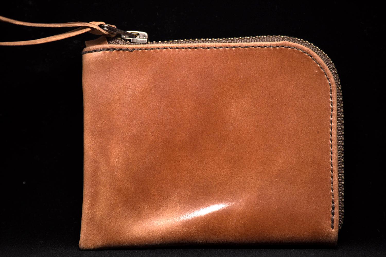 MAKR™ Zip Slim Wallet Cordovan
